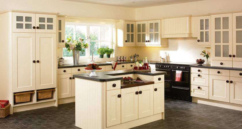 Beaded Vienna Kitchen Doors Cream Ash Homestyle