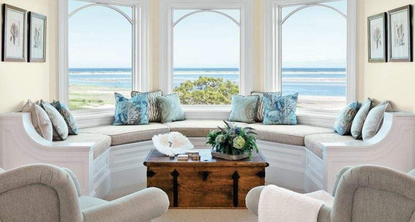 Beautiful Beach Themed Living Room Ideas Coastal
