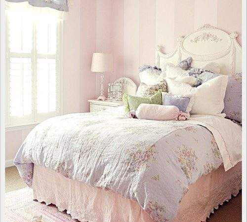 Beautiful Bed Bedroom Delicate Girly Want