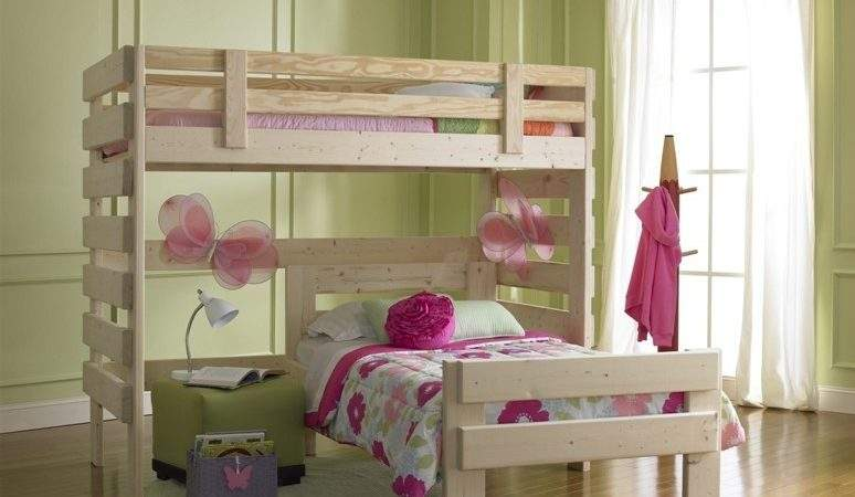 Beautiful Butterfly Shape Bunk Beds Girls Bedroom Design