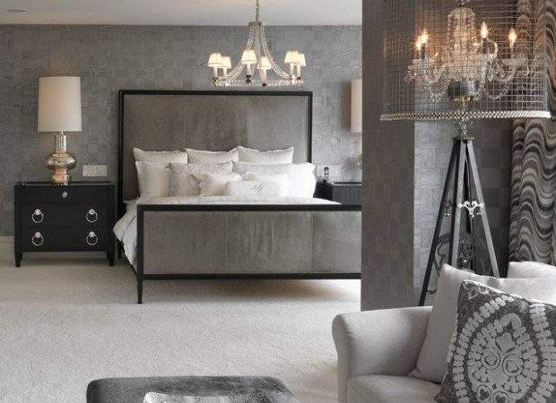 Beautiful Grey Bedroom Design