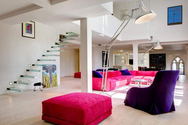 Beautiful Houses Modern Loft Inside Victorian Westbourne