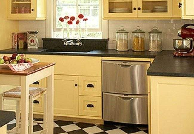 Beautiful Kitchen Cabinet Colors Small Kitchens Home