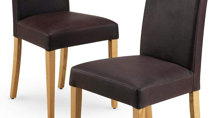 Beautiful Red Leather Dining Room Chairs Contemporary