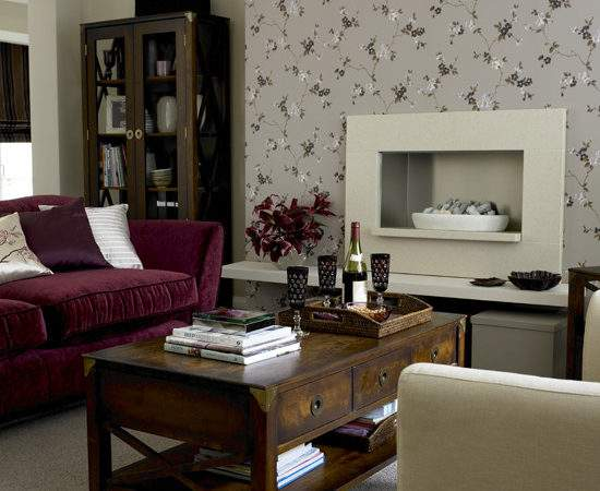 Beautiful Stylish Country Themed Living Room Decor