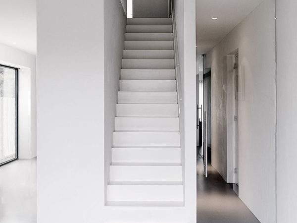 Beautifull Design White Stairs Olpos