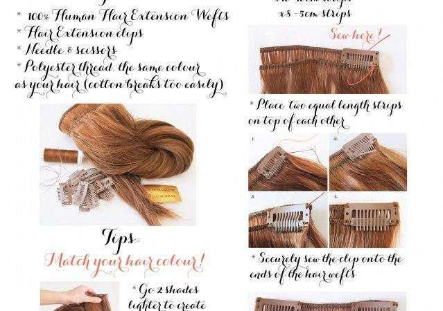 Beauty Report Make Your Own Hair Extensions