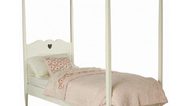 Bed Heart Four Poster Single Chic Shack