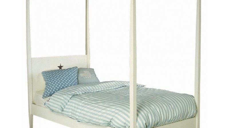 Bed Star Four Poster Single Chic Shack