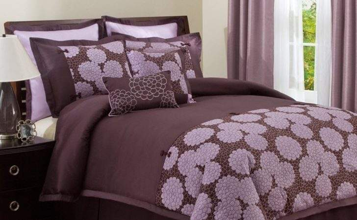 Bedroom Breathtaking Purple Brown
