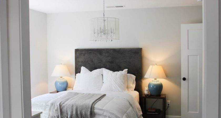Bedroom Comely Grey White Slate Blue
