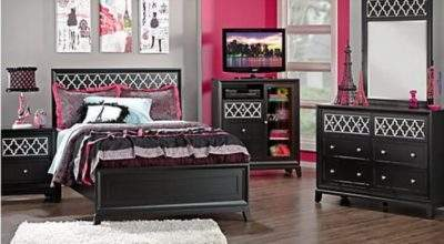Bedroom Furniture Teenage Girl Home Interior Design