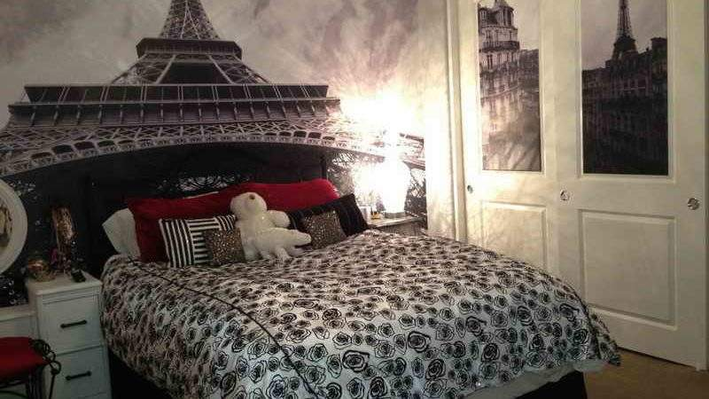 Bedroom Paris Themed Bedrooms