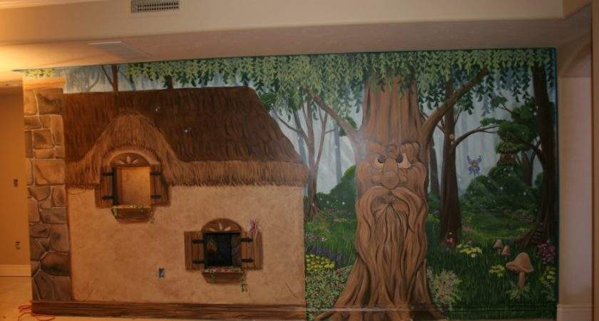 Bedroom Stunning Enchanted Forest