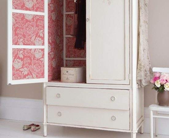 Bedroom Wardrobe Damask Country