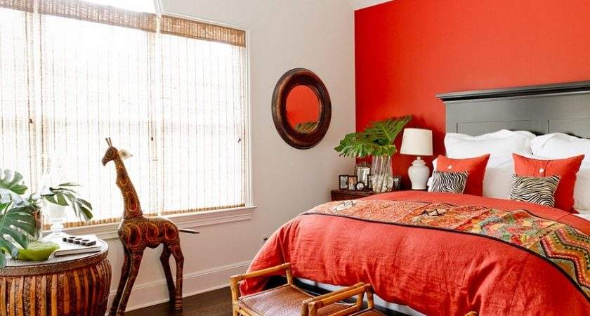 Bedrooms Bring Home Romance Red