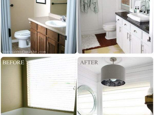 Before After Awesome Bathroom Makeovers Hative