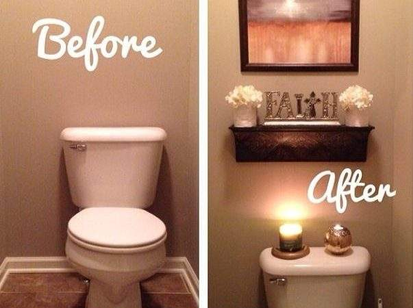 Before After Bathroom Apartment Great