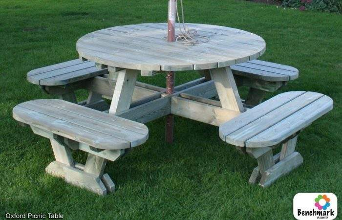 Benchmark Picnic Tables
