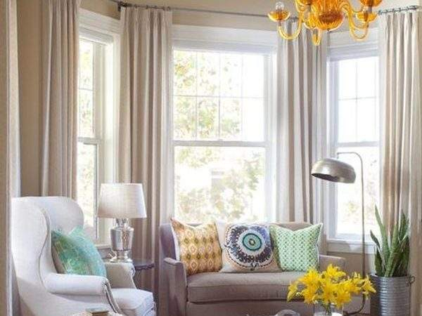 Best Bay Window Curtains Ideas Pinterest