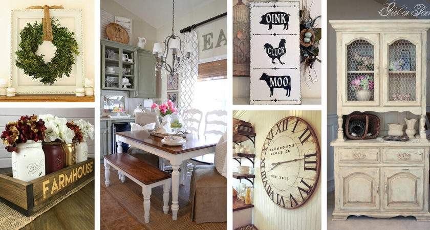 Best Farmhouse Dining Room Design Decor Ideas