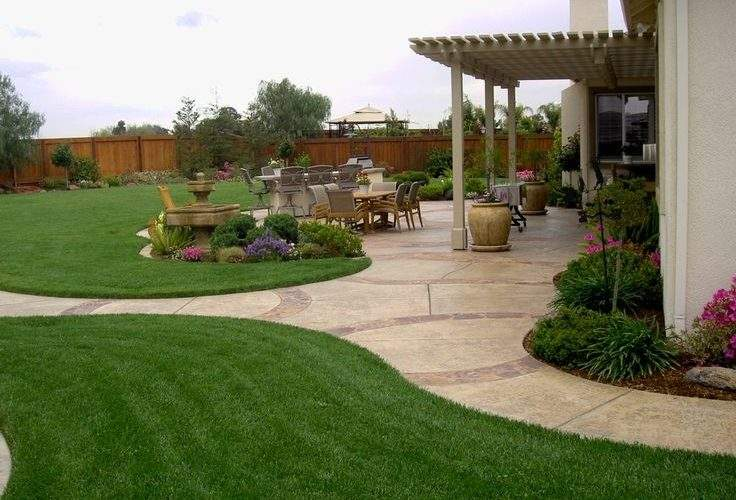 Best Large Backyard Landscaping Ideas Pinterest