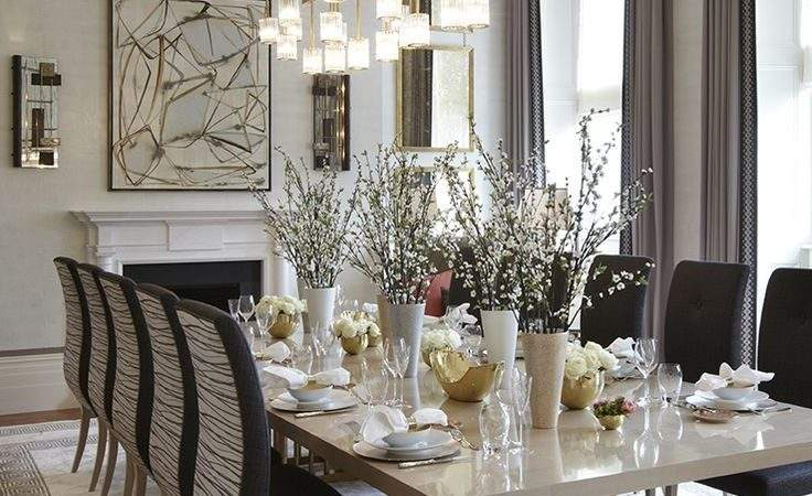Best Luxury Dining Room Ideas Pinterest