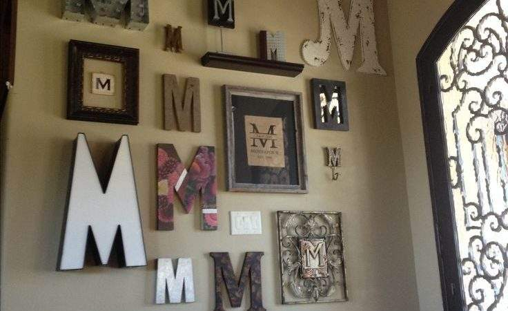 Best Monogram Wall Letters Ideas Pinterest