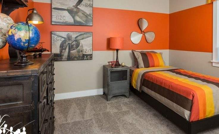 Best Orange Boys Rooms Ideas Pinterest