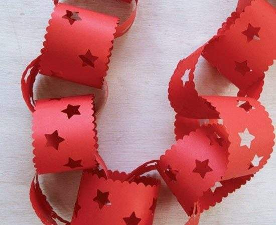 Best Paper Chains Ideas Pinterest Valentines