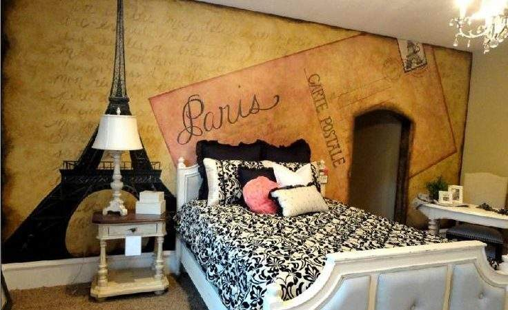 Best Paris Themed Bedrooms Ideas Pinterest
