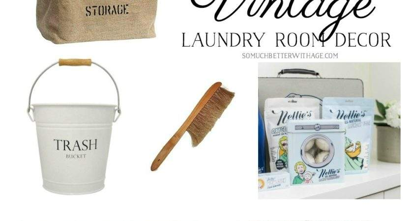 Best Vintage Laundry Room Decor Giveaway Much