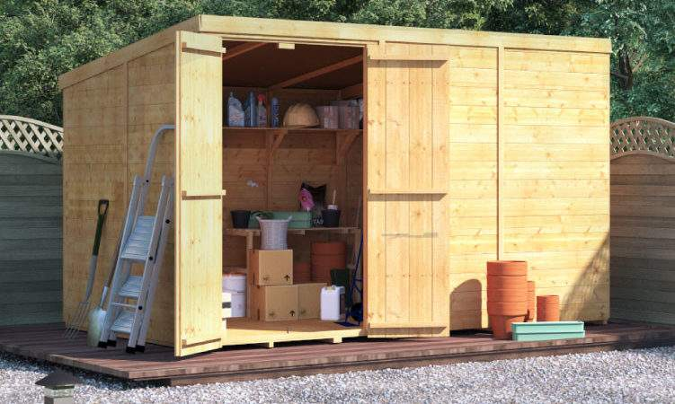 Billyoh Master Tongue Groove Pent Shed Garden Sheds