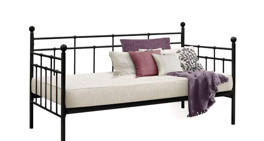 Birlea Lyon Black Metal Single Daybed Frame Internet
