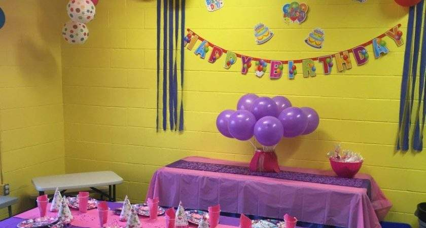 Birthday Party Room Decorations Ideas Inspiration