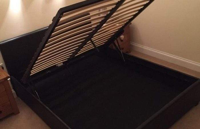 Black Leather King Bed Buy Sell Find Used
