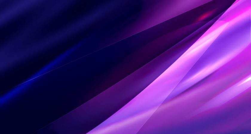 Black White Abstract Purple
