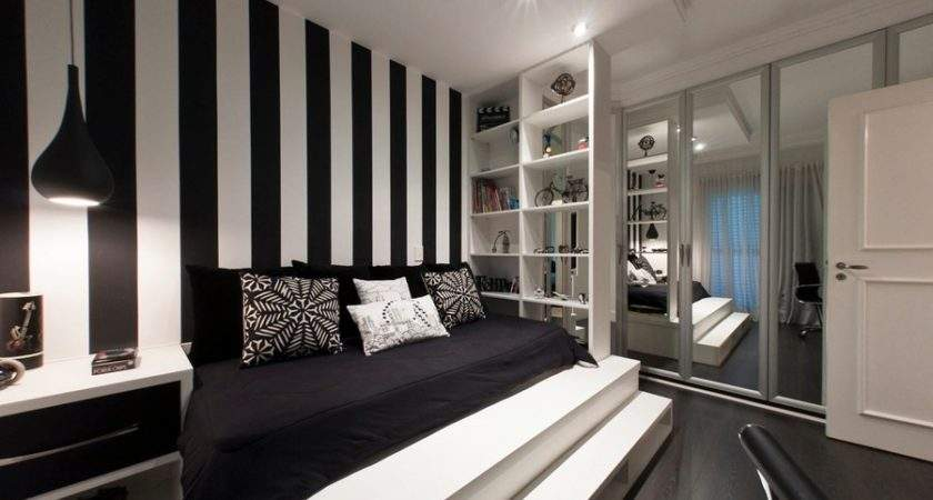 Black White Bedroom Interior Design Ideas