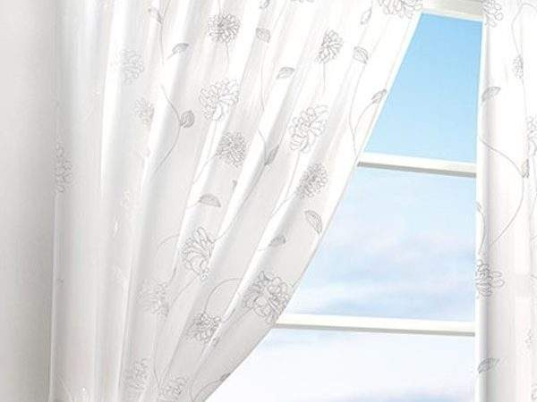 Black White Lined Voile Curtains Curtain Menzilperde