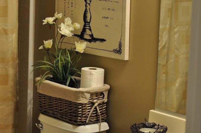 Bland Bathroom Makeover Reveal Small Things Blog