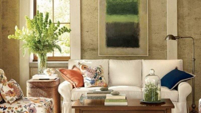 Blend Classic Retro Style Vintage Living Room