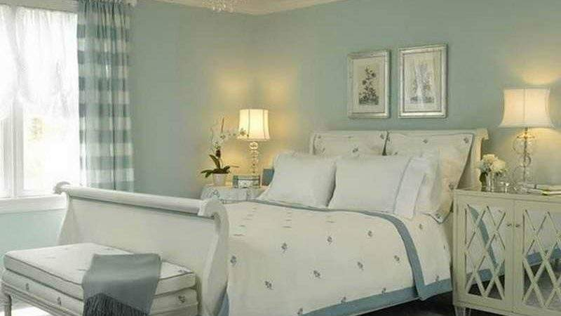 Bloombety Beautiful White Blue Romantic Bedroom Colors
