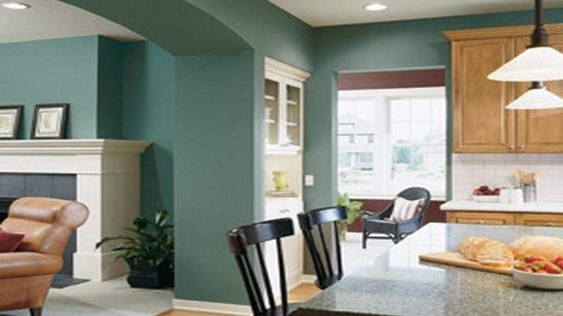 Bloombety Contemporary Paint Colors Living Room