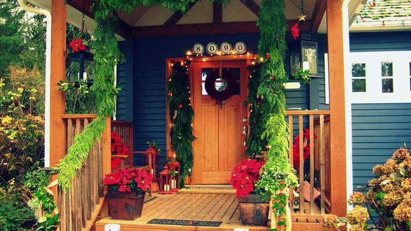 Bloombety Country Home Christmas Decorating Ideas