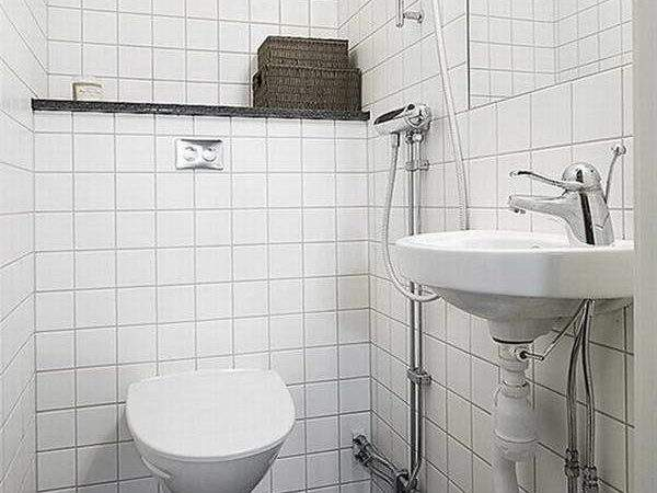 Bloombety Small Toilet Design Sower Provide