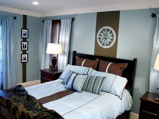 Blue Brown Bedroom Ideas Collection Home Interiors
