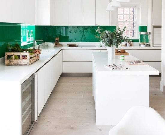 Bold Colour Kitchen Stand Out Crowd