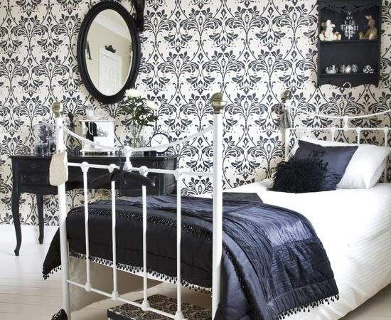 Bold Damask Bedroom Housetohome