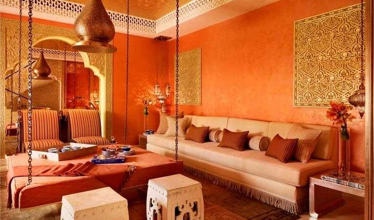 Bold Design Touches Create Moroccan Oasis Your