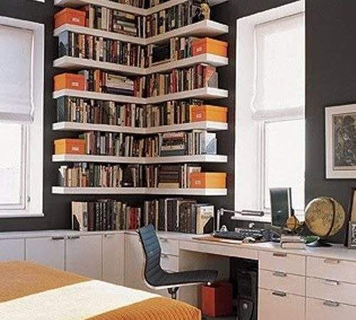 Bookshelf Ideas Small Spaces